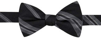 Ryan Seacrest Distinction Men's Imperial Stripe Pre-Tied Bow Tie, Created for Macy's $49.50 thestylecure.com