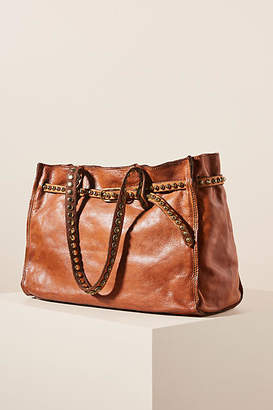Campomaggi Studded Belt Tote Bag