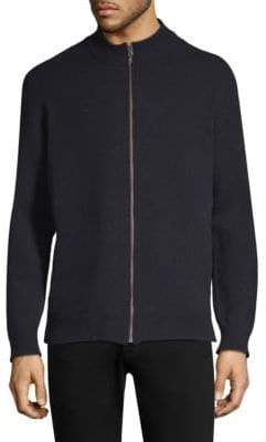 Sunspel Wool Zip-Front Jacket