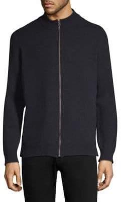Sunspel Wool Zip-Front Jacket