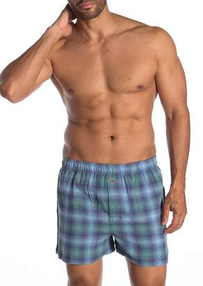 Tommy Bahama Fall Plaid Flannel Boxers