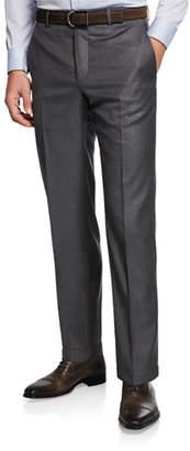 Santorelli Men's 130s Wool Dress Pants