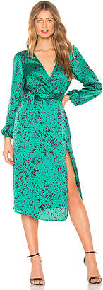 L'Academie The Darlene Midi Dress