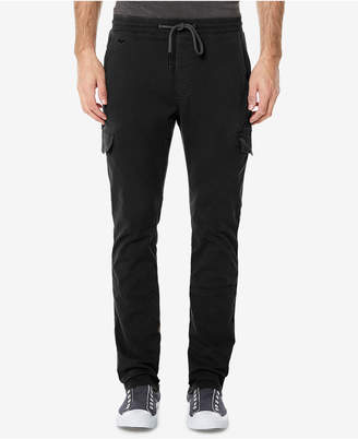 Buffalo David Bitton Men's Zoltan-X Stretch Cargo Jogger Pants