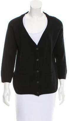 Prada Wool And Cashmere-Blend Cardigan