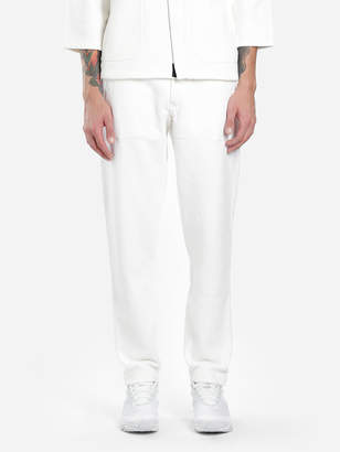 Stone Island MEN'S WHITE TROUSERS