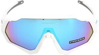 Oakley Flight Jacket Mtt Wht/wht Sunglasses