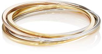 Kenneth Jay Lane KENNETH JAY LANE WOMEN'S INTERLOCKED BANGLE SET $80 thestylecure.com
