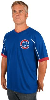 Majestic Men's Chicago Cubs Emergance V-Neck Tee