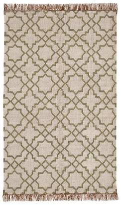 Pottery Barn Beverly Synthetic Rug - Neutral Multi