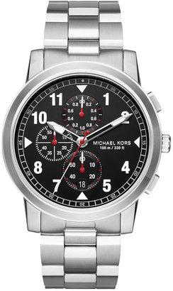 Michael Kors Men's Chronograph Paxton Stainless Steel Bracelet Watch 44mm MK8549 $275 thestylecure.com