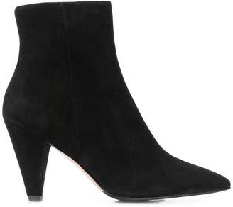 The Seller ankle zip boots
