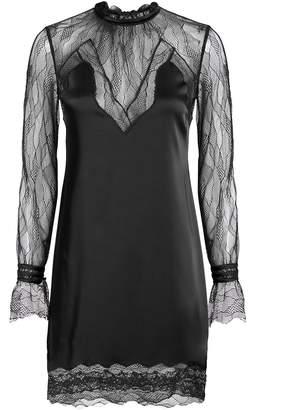 Jonathan Simkhai Lingerie Sateen Mini Dress