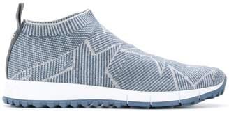 Jimmy Choo Norway knit sneakers