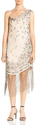 Haute Hippie Mojave Desert Embellished Silk Dress