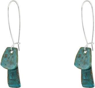 Robert Lee Morris Patina Long Drop Earrings Earring