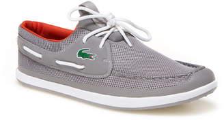 Lacoste Men's Landsailing Textile Boat Shoes