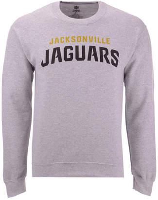 Authentic Nfl Apparel Men Jacksonville Jaguars Gunslinger Crew Neck Sweatshirt