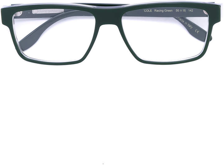 Oliver Goldsmith 'Cole' square frame glasses