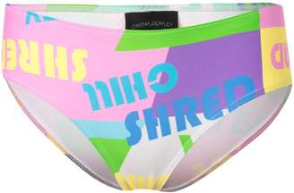 Cynthia Rowley Good Vibes bikini bottoms