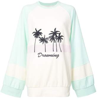 FENTY PUMA by Rihanna palm tree print sweatshirt