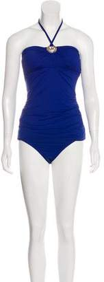 MICHAEL Michael Kors Embellished Two-Piece Swimsuit w/ Tags