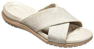 Crocs Slide Sandals - Capri Shimmer Xband