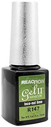 GEL II Reaction REMIX Color Change Nail Mood Polish Soak Off Loco-Nut Lime R147 by Gel II