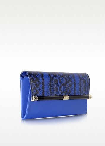 Diane von Furstenberg 440 Envelope Printed Leather Clutch