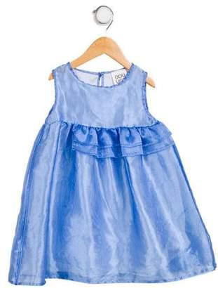 Douuod Girls' Sleeveless A- Line Dress