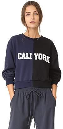Cynthia Rowley Women's Cropped Caliyork Sweatshirt