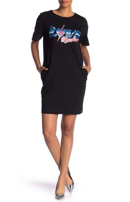 Love Moschino Fulmine T-Shirt Dress