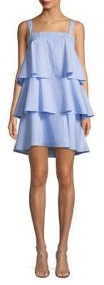 Lord & Taylor Design Lab Tiered Day Dress