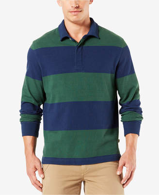 Dockers Men Striped Rugby Shirt