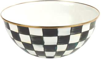 Mackenzie Childs Courtly Check Enamel Bowl (16cm)
