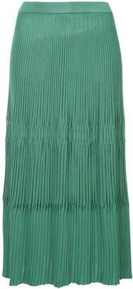 Christian Wijnants midi pleated skirt