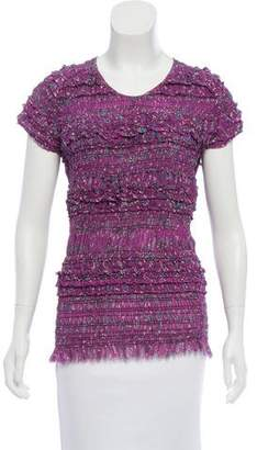 Isabel Marant Silk Ruched Top