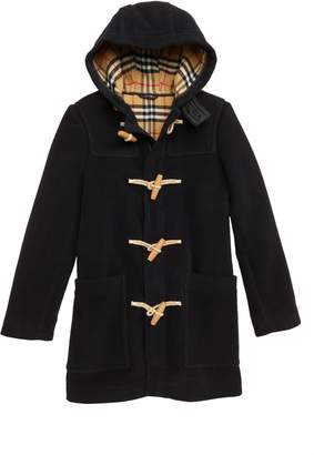 Burberry Burford Double-Face Wool Duffel Coat
