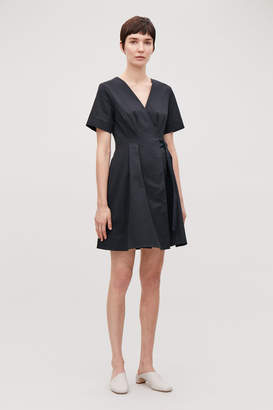 Cos BELTED KIMONO-SHAPE DRESS