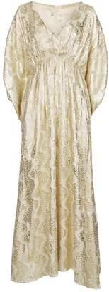 Melissa Odabash Shimmer Maxi Dress