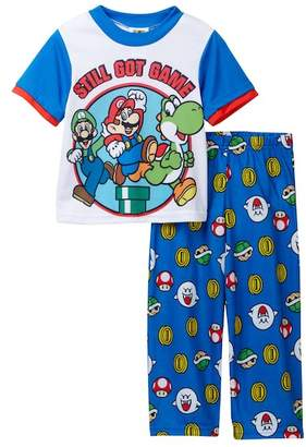 Super Mario Bros Still Got Game 2-Piece PJ Set (Little Boys & Big Boys)