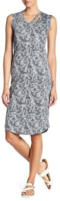 C&C California Billie Printed Muscle Midi Dress