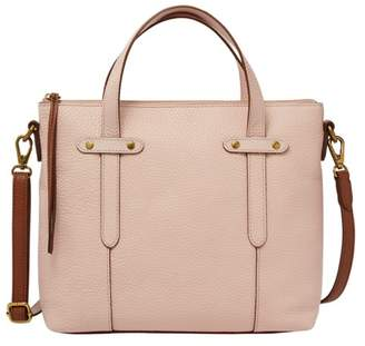 Fossil Felicity Satchel Handbags Dusty Rose