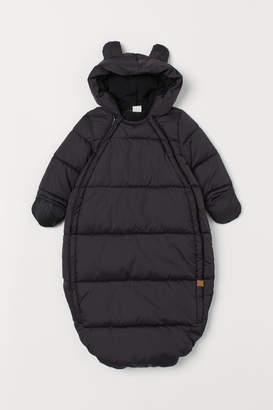 H&M Padded footmuff with a hood