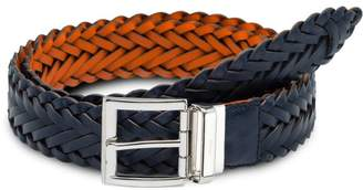 Prada reversible woven belt