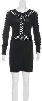 AllSaints Knit Mini Dress