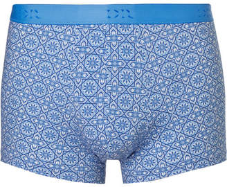 Derek Rose Star 12 Printed Stretch-Jersey Boxer Briefs