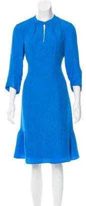 Nanette Lepore Silk Jacquard Dress $175 thestylecure.com