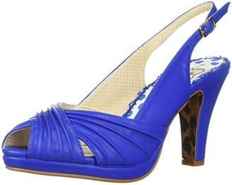 Bettie Page Women's BP401-SELENE Heeled Sandal