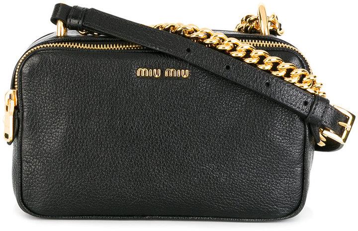 Miu MiuMiu Miu chain detail shoulder bag
